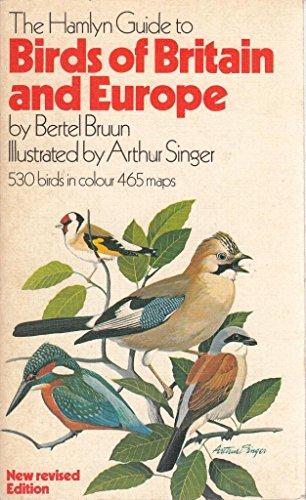 THE HAMLYN GUIDE TO BIRDS OF BRITAIN: Bruun, Bertel.