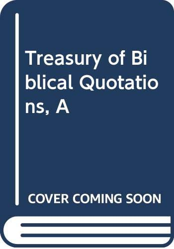 9780600332473: Treasury of Biblical Quotations, A