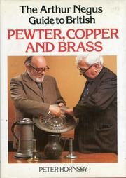 9780600342175: Arthur Negus Guide to Pewter, Copper and Brass