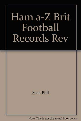 9780600347286: A. to Z. of British Football Records