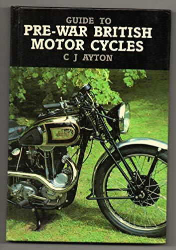 Guide to Pre-war British Motor Cycles: Ayton, Cyril J.