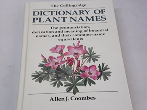 9780600357704: Dictionary of Plant Names