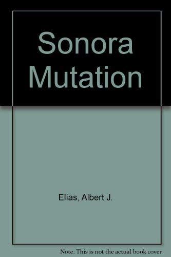 9780600383864: Sonora Mutation
