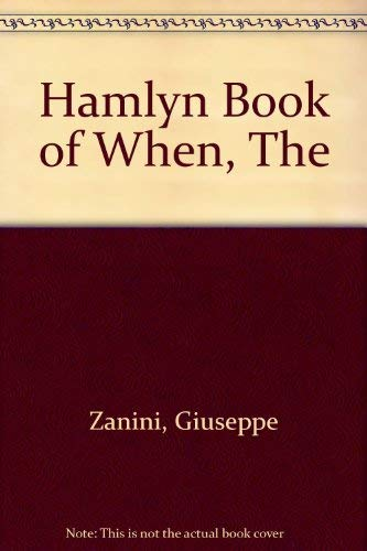 9780600392934: Hamlyn Book of When, The