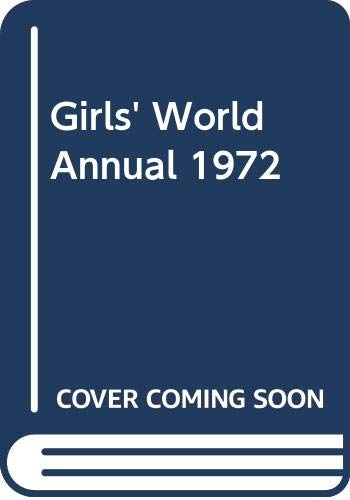 9780600396444: Girls' World Annual 1972