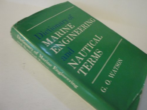 9780600410676: Dictionary of Marine Engineering and Nautical Terms