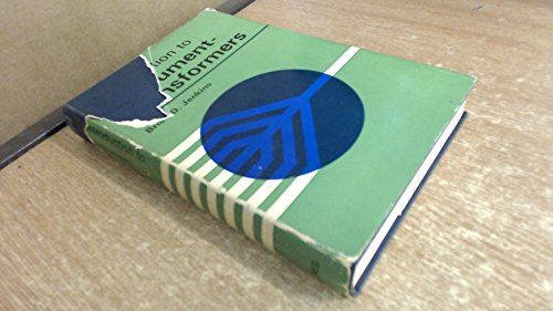 9780600411468: Introduction to Instrument Transformers