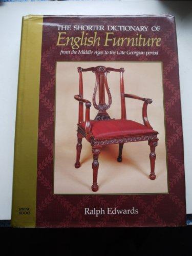 Shorter Dictionary of English Furniture: Edwards, Ralph