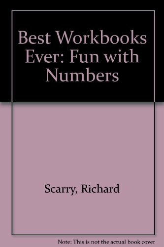 Scarry Fun with Numbers 4-5 Bty (0600566501) by Richard Scarry