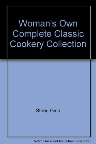 9780600580546: Woman'S Own Complete Cookery