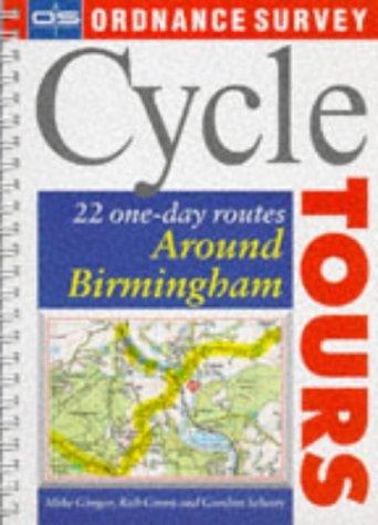 Os Cycle Tours: Around Birmingham (Ordnance Survey: Cotton, Nick and