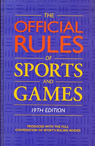 9780600587026: Official Rules of Sports and Games