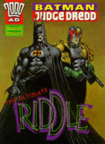 9780600590477: Batman, Judge Dredd: Ultimate Riddle (2000 AD)