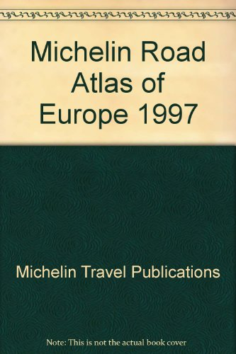 Michelin Road Atlas Europe (0600591883) by Paul Hamlyn