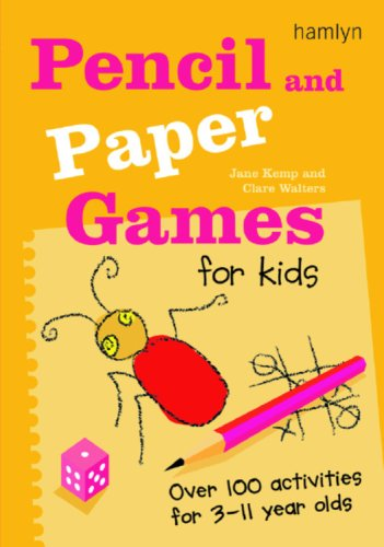 Pencil and Paper Games for Kids: Over: Kemp, Jane, Walters,