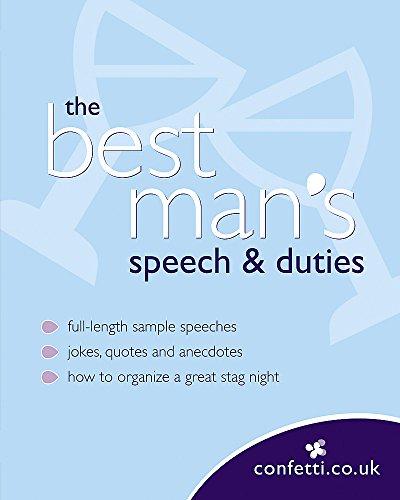 Confetti: The Best Man's Speech & Duties: confetti.co.uk