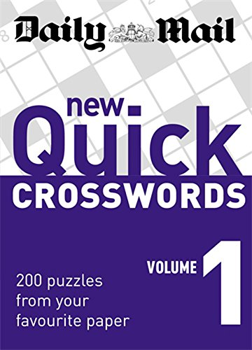 9780600618461: Daily Mail: New Quick Crosswords 1: 200 Puzzles from Your Favourite Paper: v. 1 (The Daily Mail Puzzle Books)