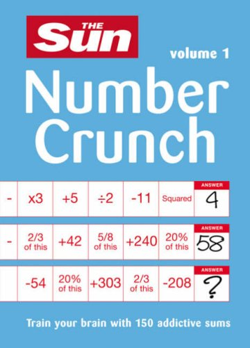 9780600619239: Numbercrunch: v. 1: Train Your Brain with 150 Addictive Sums