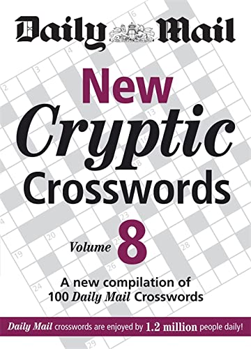 9780600619710: The Daily Mail: New Cryptic Crosswords 8: v. 8: A New Compilation of 100
