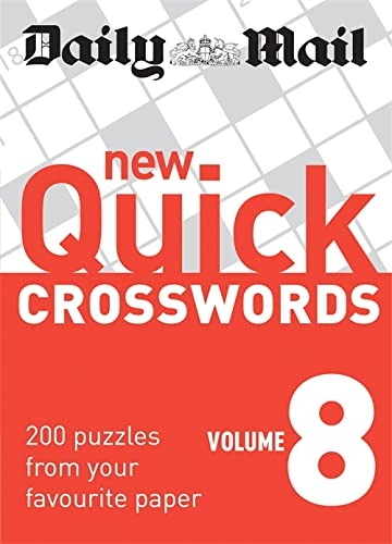 9780600621256: Daily Mail: New Quick Crosswords 8 (The Daily Mail Puzzle Books)