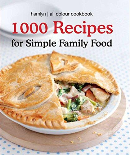 9780600621539: Hamlyn All Colour Cookbook 1000 Recipes for Simple Family Food
