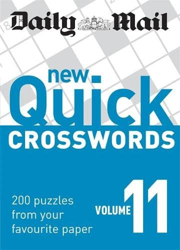 9780600622185: Daily Mail: New Quick Crosswords 11 (The Daily Mail Puzzle Books)