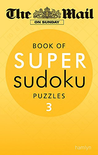 9780600624653: The Mail on Sunday: Super Sudoku Volume 3