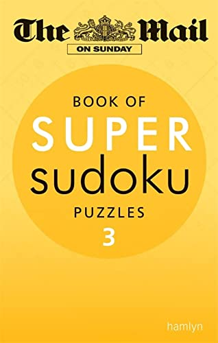 Super Sudoku: Volume 3 (Paperback): The Mail on