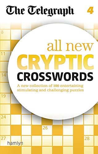 9780600626022: The Telegraph: All New Cryptic Crosswords 4 (The Telegraph Puzzle Books)