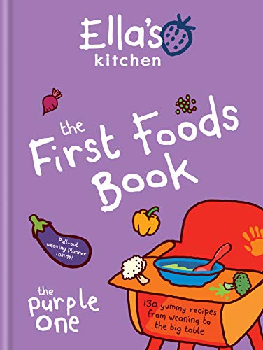 9780600629252: Ella's Kitchen: The First Foods Book: The Purple One