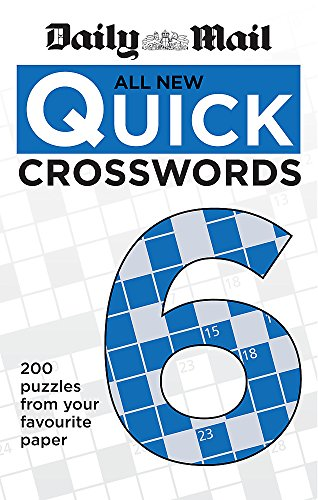 9780600629467: Daily Mail All New Quick Crosswords 6 (The Daily Mail Puzzle Books)