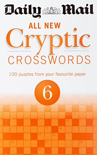 9780600629481: Daily Mail All New Cryptic Crosswords 6 (Daily Mail Puzzle Books)