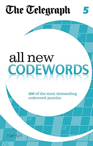 All New Codewords: Codewords 5 (The Telegraph Puzzle Books): The Telegraph