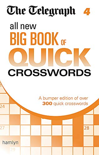9780600630166: The Telegraph: All New Big Book of Quick Crosswords 4 (The Telegraph Puzzle Books)
