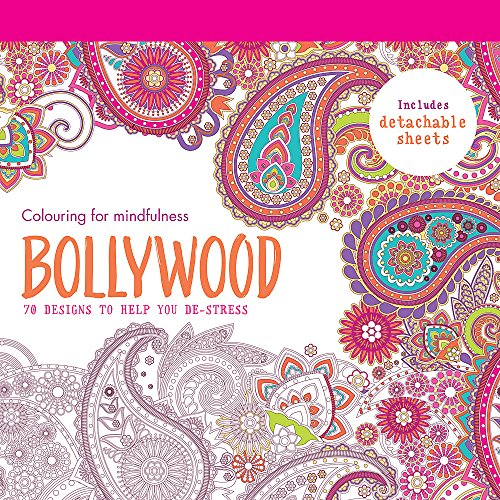 9780600632405: Bollywood: 70 designs to help you de-stress (Colouring for Mindfulness)