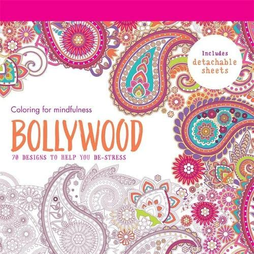 9780600632597: Bollywood: 70 designs to help you de-stress (Coloring for Mindfulness)
