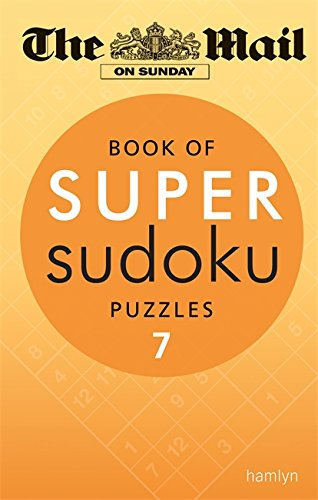 Book of Super Sudoku Puzzles 7 (Paperback): The Mail on