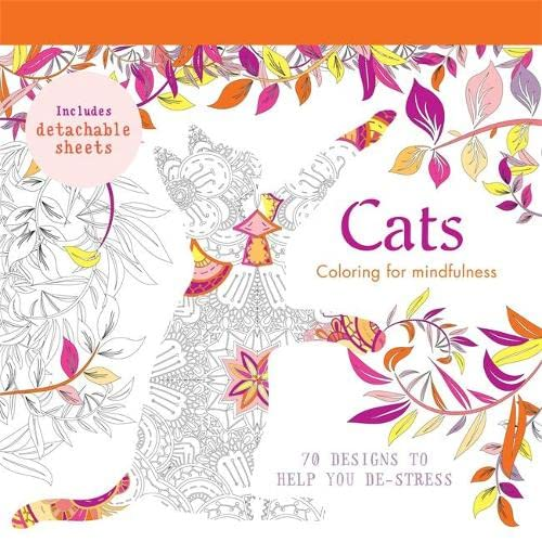 9780600633013: Cats: 70 designs to help you de-stress (Coloring for Mindfulness)