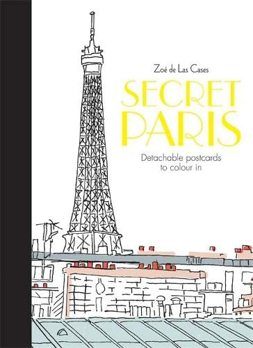9780600633075 Secret Paris Postcards Colouring For Mindfulness