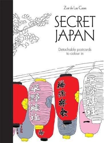 9780600633105: Secret Japan Postcards (Colouring for Mindfulness)