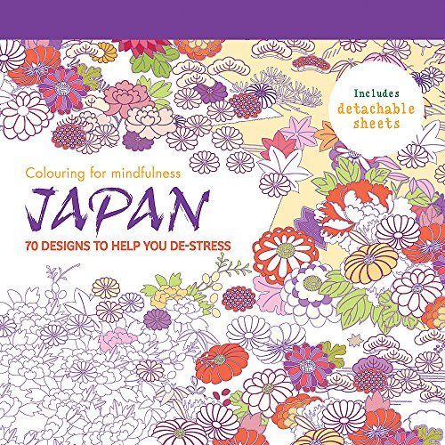 9780600633716: Japan: 70 designs to help you de-stress (Colouring for Mindfulness)