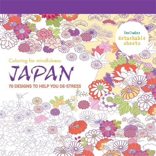 9780600633815: Japan: 70 designs to help you de-stress (Coloring for Mindfulness)