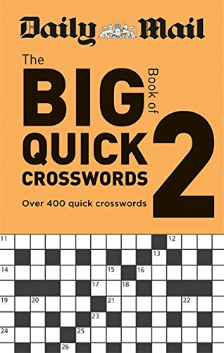 9780600636298: Daily Mail Big Book of Quick Crosswords Volume 2 (The Daily Mail Puzzle Books)
