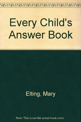 9780600714491: Every Child's Answer Book