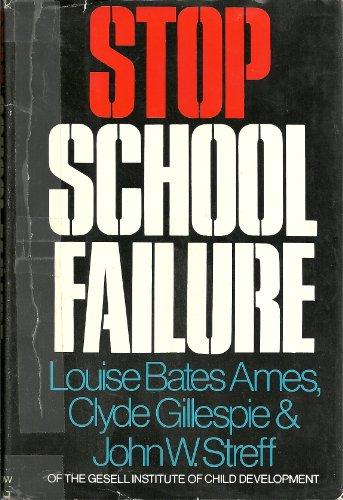 9780601011483: Stop School Failure