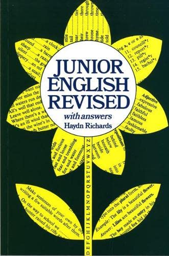 9780602205584: Junior English Revised With Answers