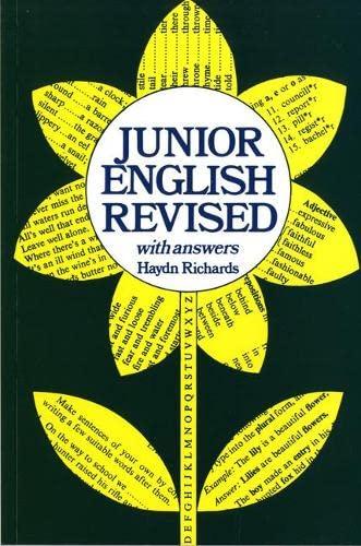 haydn richards junior english book 3