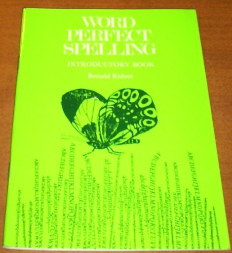 Word Perfect Bk.A: Introduction: Spelling Course (Word: Ridout, Ronald