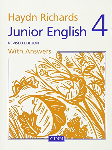 9780602225513: Junior English 4 With Answers: Bk. 4 (Manchester Economic Project Satellite)