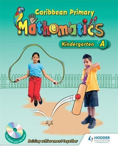 Caribbean Primary Maths Kindergarten Pupil Book A: Lewis, Natasha